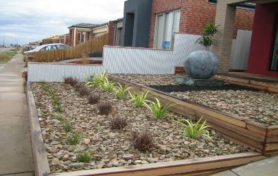 shale mulch in landscaping
