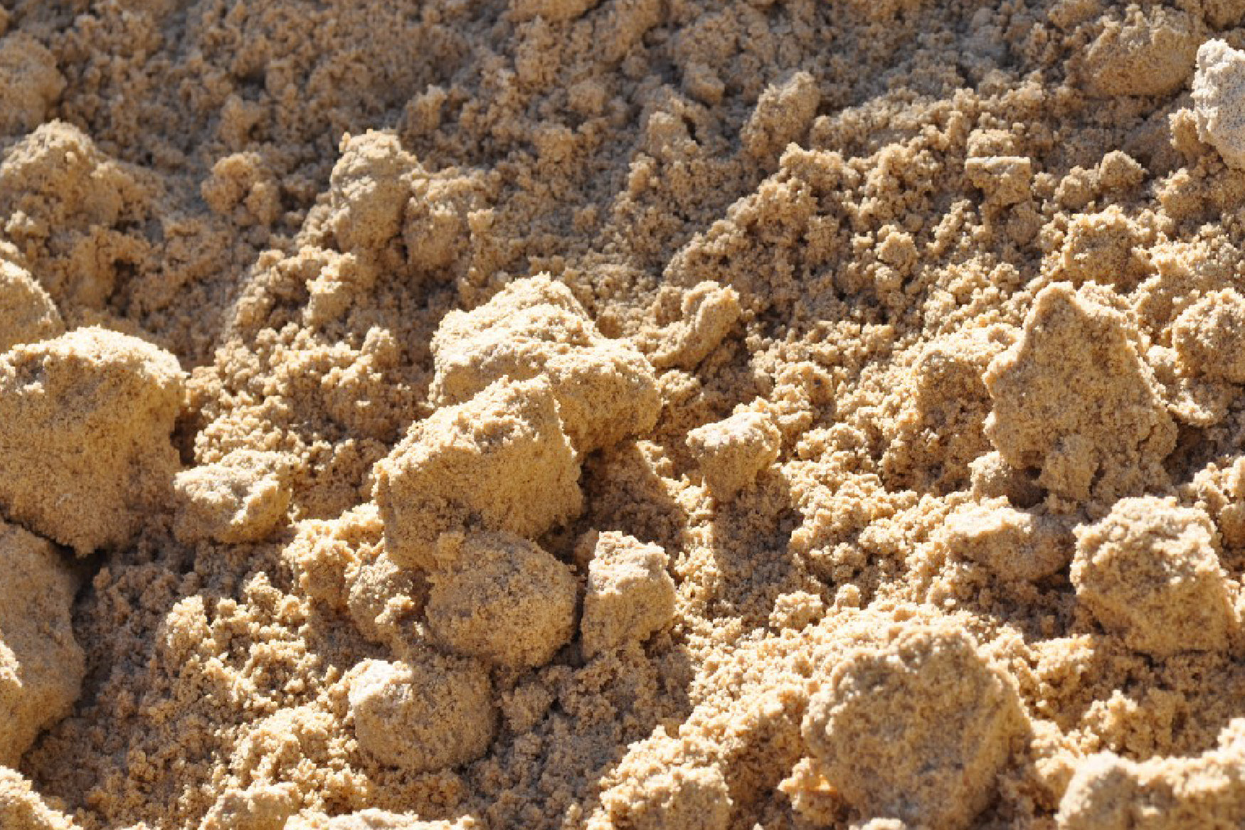 preview - clay balls in sand